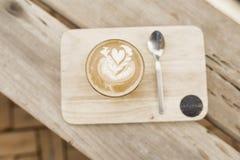 Saturday latte coffee Royalty Free Stock Photo