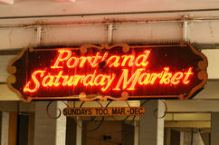 Saturday Market Royalty Free Stock Photography