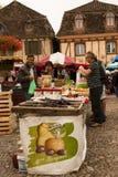 Saturday market Bretenoux France Stock Photo