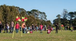 Saturday morning sport. Royalty Free Stock Photography