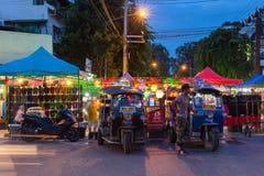 Saturday Night Market, Chiang Mai, Thailand Royalty Free Stock Photos