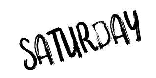 Saturday rubber stamp royalty free illustration