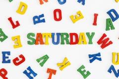 Saturday Stock Image