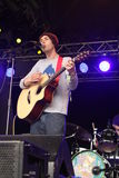 Saturday Sun performing at Somersault Festival 2014 Stock Photo