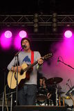 Saturday Sun performing at Somersault Festival 2014 Royalty Free Stock Photography