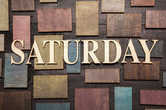Saturday Royalty Free Stock Photos