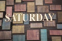 Saturday Royalty Free Stock Photography