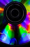 Psychedelic CD Arkivbilder