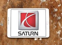 Saturn-autoembleem Stock Afbeelding