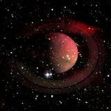 saturn Elemente dieses Bildes geliefert von der NASA stockfoto