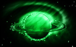 Saturn galaxy. Royalty Free Stock Photography