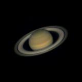 Saturn on June 29, 2016 Stock Photo