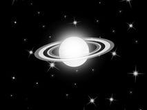 Saturn planet Stock Photo