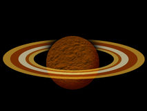 Saturn planet Royalty Free Stock Image