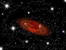 Saturn planet Stock Image