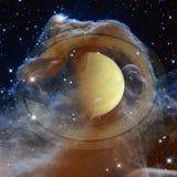 Saturn - Planet des Sonnensystems Elemente dieses Bildes geliefert von der NASA lizenzfreie stockfotos