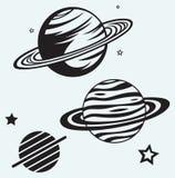 Saturn Planet Stock Photos