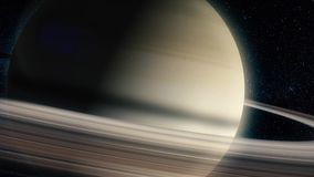 Saturn - planets of the Solar system in high quality. Science wallpaper