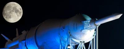 Saturn rakieta Fotografia Royalty Free