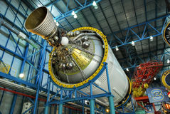 Saturn 5 Rocket Engine Stage 3 Stock Images