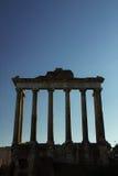 saturn tempel Arkivbild