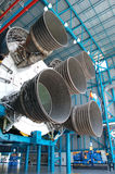 Saturn V – Engines. Apollo/Saturn V Engines in the Kennedy Space Center, Florida Stock Photography