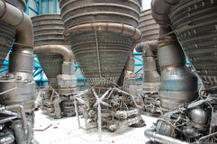 Saturn V – Engines Stock Images