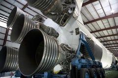 Saturn V moon rocket in Houston Stock Image