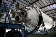 Saturn V moon rocket in Houston Stock Images