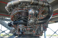 Saturn V â Motor Lizenzfreies Stockfoto