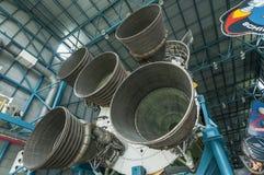 Saturn V motor Arkivfoton