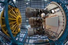 Saturn-V-Rakete Lizenzfreie Stockbilder