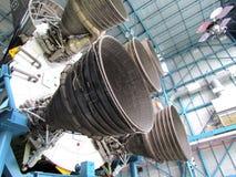 Saturn V Rakietowi silniki zdjęcie stock