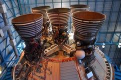 Saturn V Rakietowi silniki, przylądek Canaveral, Floryda zdjęcia stock