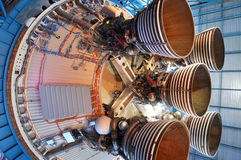 Saturn V Rocket Engines, Cape Canaveral, Florida Stock Images