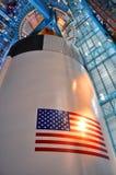 Saturn V Rocket Engines, Cape Canaveral, Florida Stock Photo