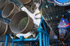 Saturn V Rocket Engines, Cape Canaveral, Florida Royalty Free Stock Images