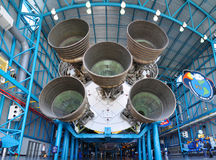 Saturn V Rocket Engines, Cape Canaveral, Florida Royalty Free Stock Photography