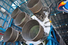 Saturn V Rocket Engines, Cape Canaveral, Florida Stock Photography