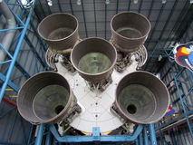 Saturn V Rocket Engines Royalty Free Stock Images