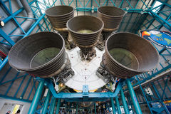 Saturn V rocket at Kennedy Space Center Royalty Free Stock Photography