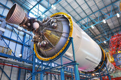 Saturn V Rocket stage III, Cape Canaveral, Florida Stock Image