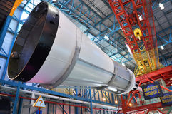 Saturn V Rocket Service Module, Cape Canaveral, Florida Royalty Free Stock Photos