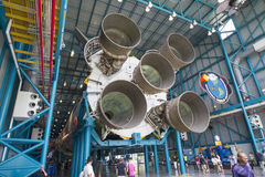 Saturn V rocket Stock Photo