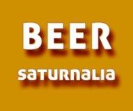Saturnalia da cerveja Imagens de Stock