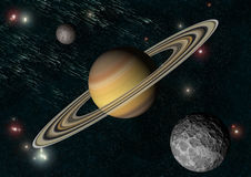 Saturne illustration libre de droits