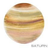 saturne Fond d'aquarelle de Saturn photo libre de droits