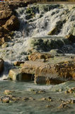 Saturnia Hot Springs in Tuscany Italy Stock Images