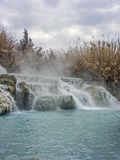 Saturnia natural do espetáculo Foto de Stock