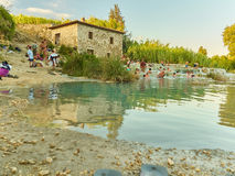 Saturnia Therme Royalty-vrije Stock Afbeelding